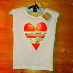 Girls Crazy 8 T-shirt *new*